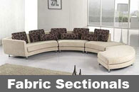 Fabric Sectional Sofas
