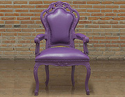 Purple Armchair Glamour 701