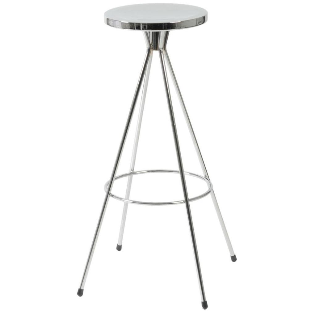 Caroline swivel bar stool chrome chrome