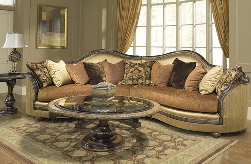 Sofa Sectional Victorian Ancolita