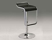 Modern black bar stool CR6050K