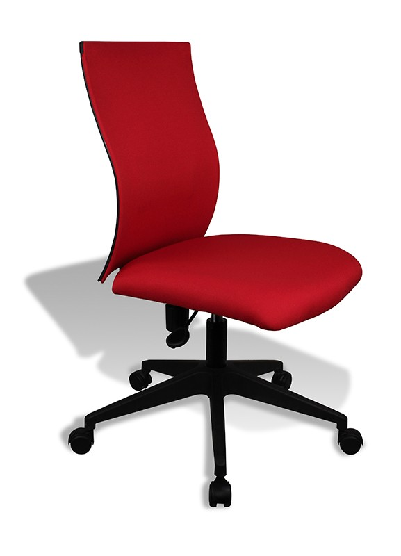 Jesper Office Helena Leather Chair in Red | Jesper Office Chairs