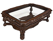 BT 078 Classic coffee table in Dark Walnut