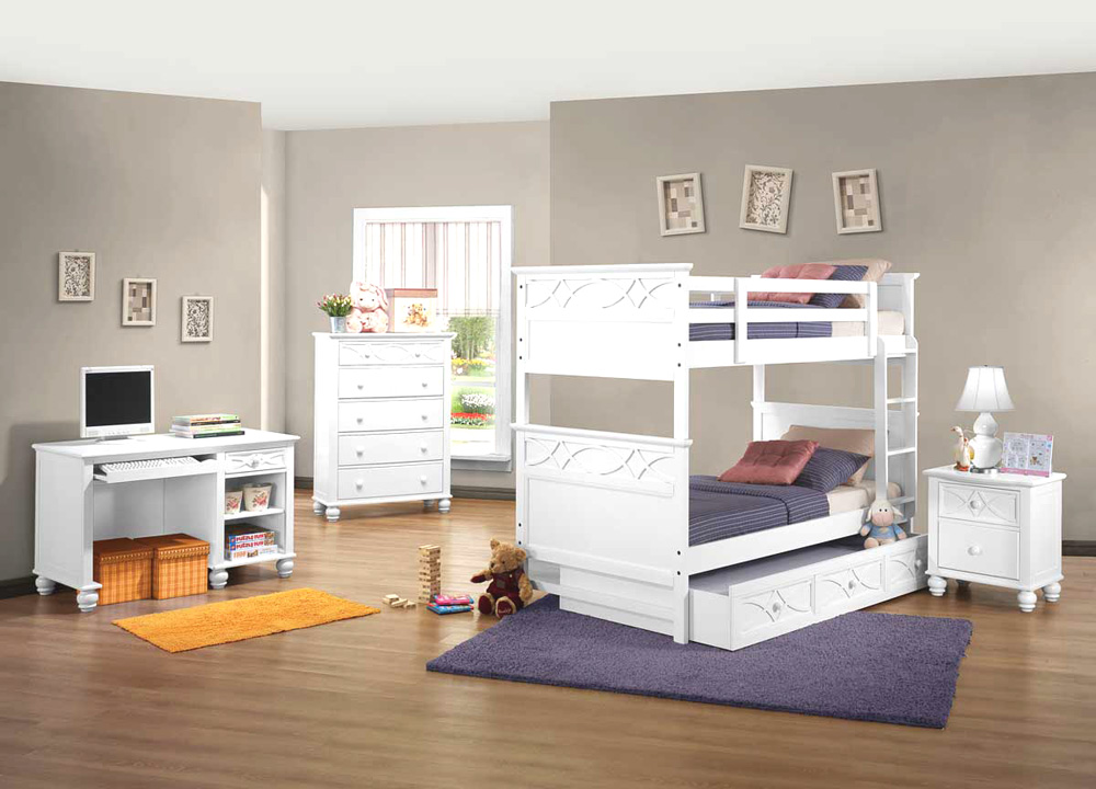home kids kids bedroom white bedroom set he119