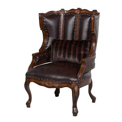 Minimalist BT 066 Brown Leather Accent Arm Chair Contemporary - Cool Accent Chair with Brown Leather sofa Top Search