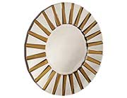 Contemporary Designer Round Mirror HRE 011