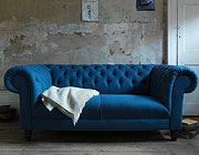Blue Custom Sofa Avelle 050