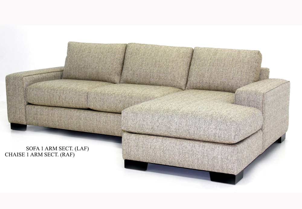 Custom Fabric Sectional Sofa Avelle 057