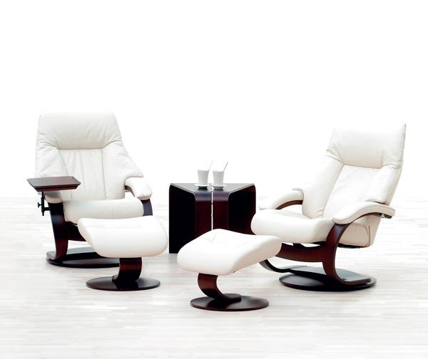 Fjords Alfa reclining chair by Hjellegjerde