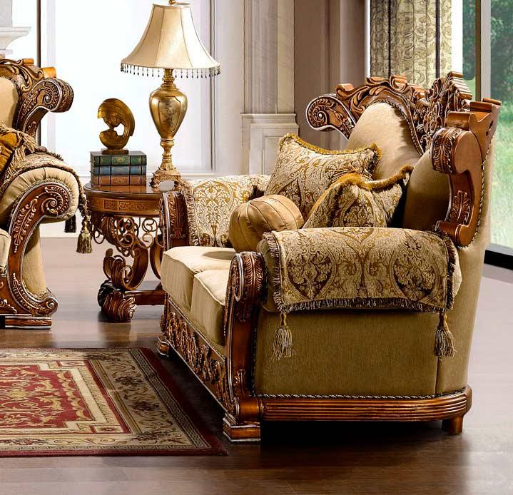 Superb ... Traditional Luxury Sofa HD963 ...