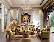 Traditional Luxury Sofa HD963