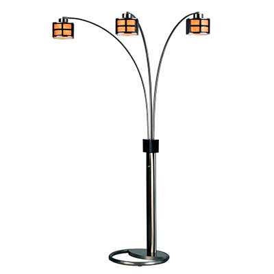 Modern Floor Lamp with parchment shades NL472
