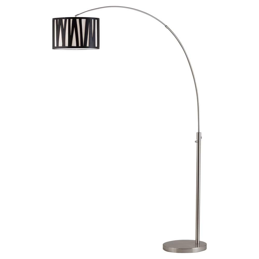 modern arc floor lamp nl523 floor table. Black Bedroom Furniture Sets. Home Design Ideas