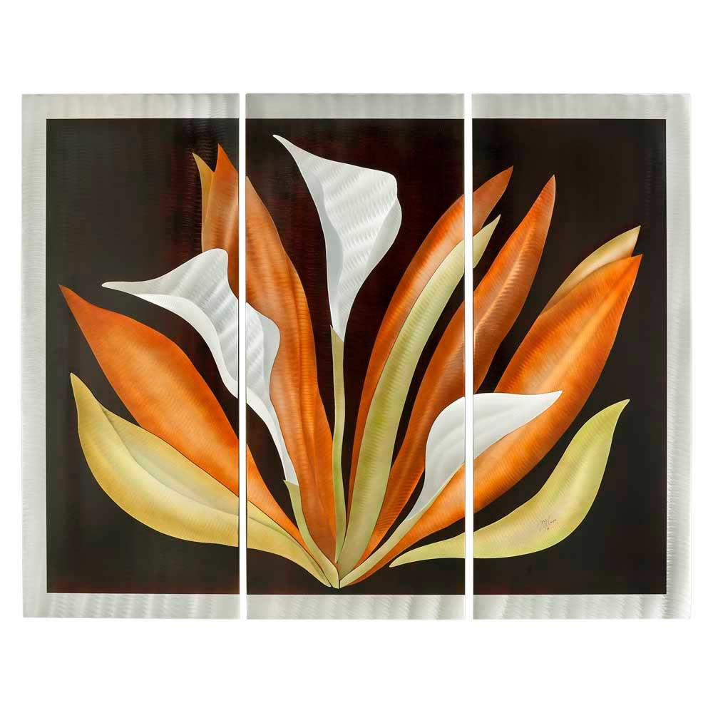 Abstract 3pc Wall Graphic Nl254 Design Accessories