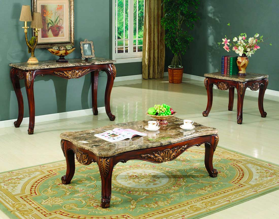 Marble Top Console Table Bm081 Hallway
