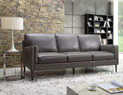 Grey Leather Sofa Collection