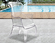 Modern Transparent Chair ZU30