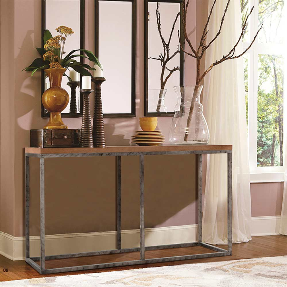 Contemporary Foyer Console : Modern console table ar hallway