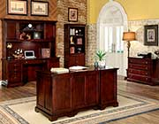Transitional Cherry Office desk FA207