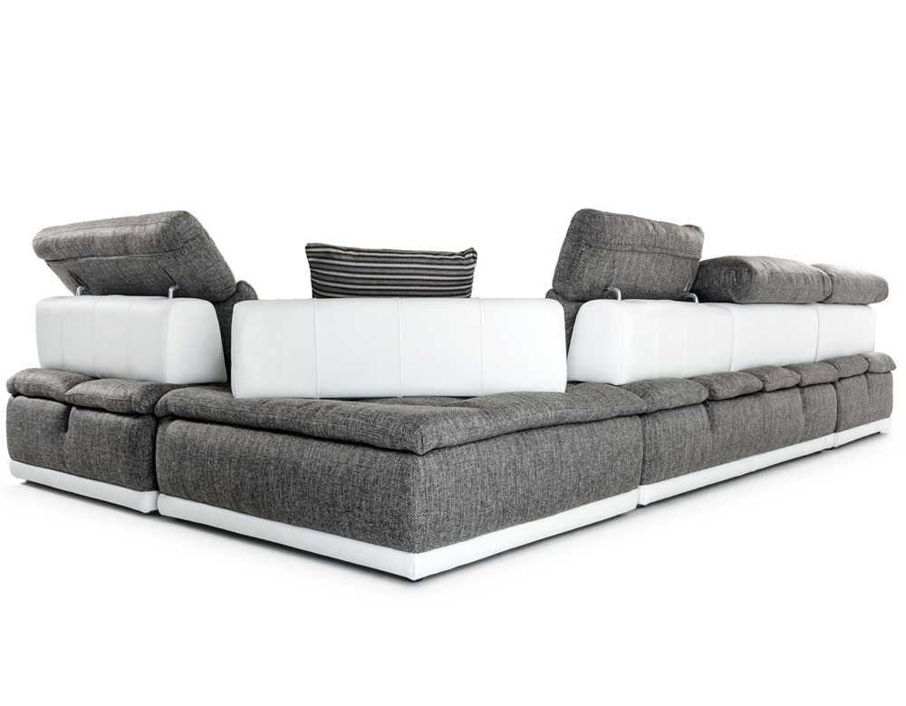 Reene Italian Sofa Sectional Leather Sectionals