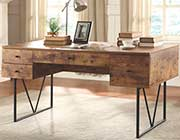 Contemporary Antique Nutmeg Desk CO 999