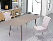 Extension Mocha Glass Table Z132