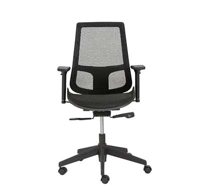 Black fabric Office chair Estyle534