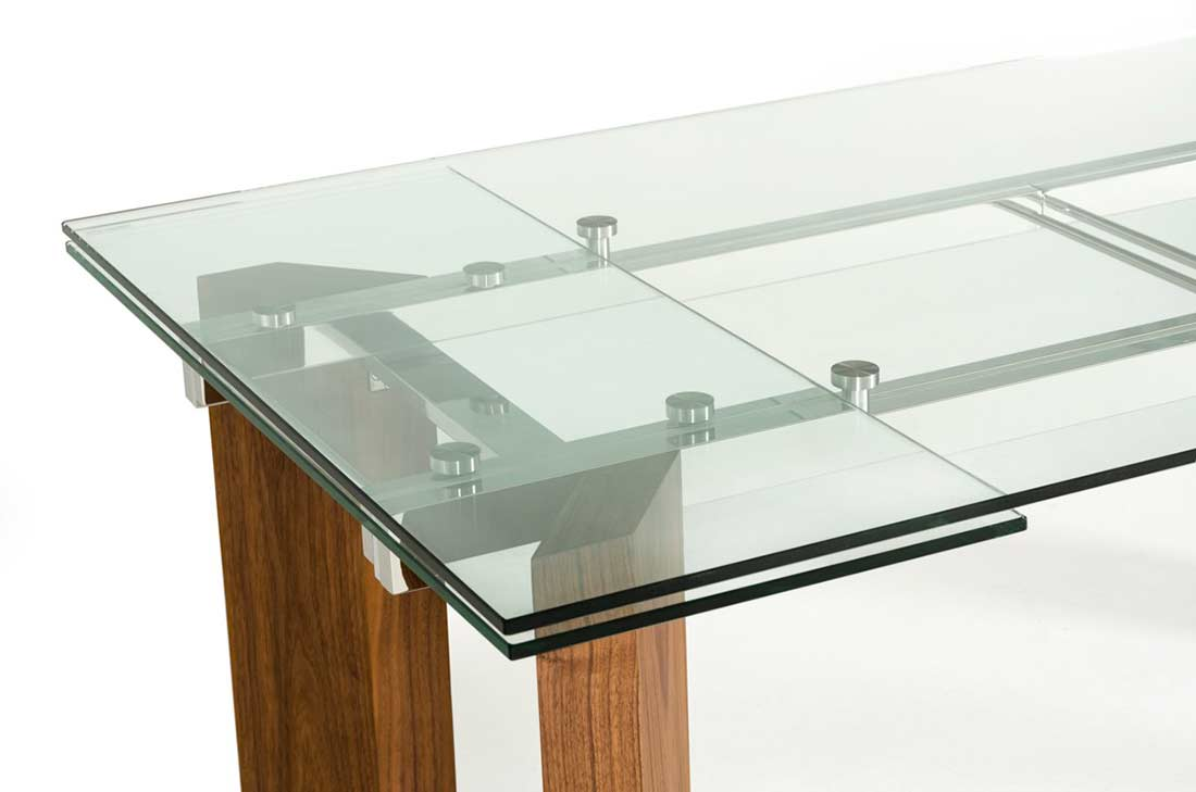Superior ... Extendable Glass Top Dining Table VG 048 ...