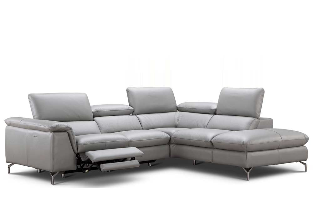 ... Power Recliner Italian Leather Sofa NJ Velia