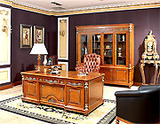 Golden Era Executive Desk