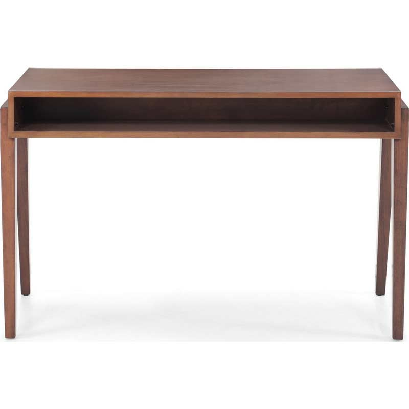 Walnut modern desk z054 desks - Walnut office desk ...
