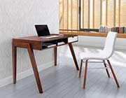 Walnut Modern Desk Z054