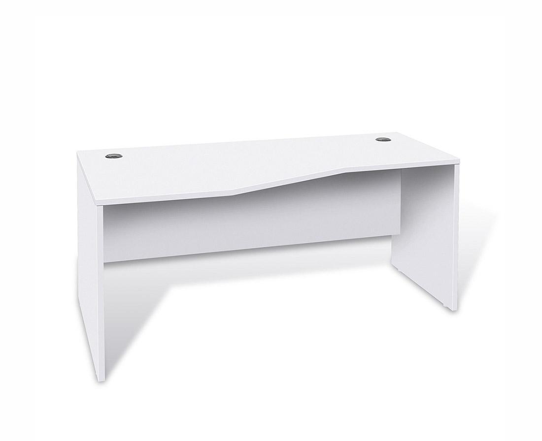 Unique Furniture 100 Collection Crescent Desk 14723 Desks
