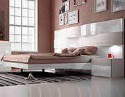 Lacquer Bed with Lights EF Catalonia