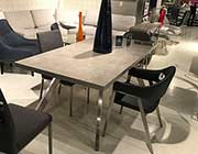 3D Marble Finish Dining Table DS Carina