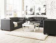 Charcoal Fabric Sofa CO 901