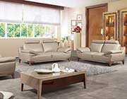Tan Italian leather sofa AEK 028