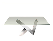 Glass Top Coffee Table SH Vern