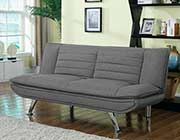Gray Fabric Sofa Bed CO 966