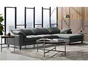 Gray Sectional Sofa DS Willa