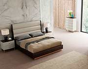 Light Grey Eco Leather bed NJ Shana
