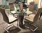 Glass Top Dining table CR 822