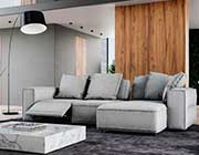 297 Gray Fabric Sectional sofa by Moroni