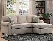 Sand Toned Sectional Sofa 667