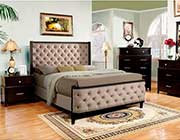 Button Tufted Padded Bed FA 210