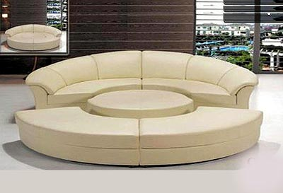 Couch Beds Furniture on Sofa Beds    Circle Sofa Bed