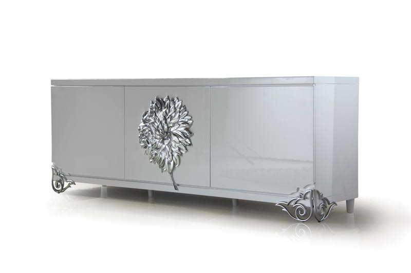 Vetussi modern buffet modern buffets stations for Modern vs classic furniture