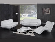 Sofa Set White Jaguar