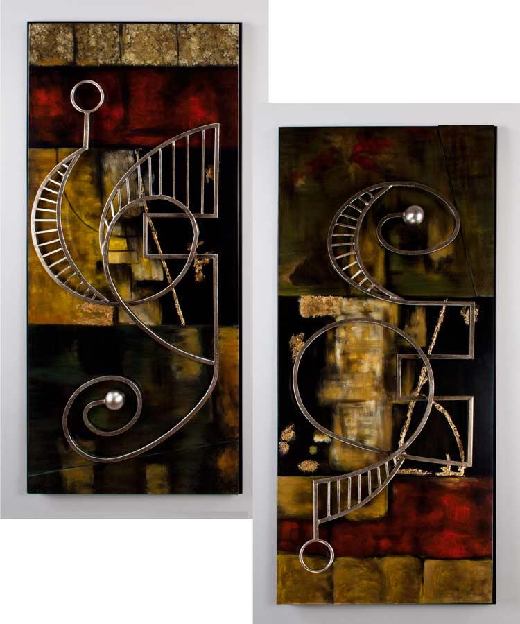 Wall Decor Sets Of 2 : Artillo wall decor set of design accessories