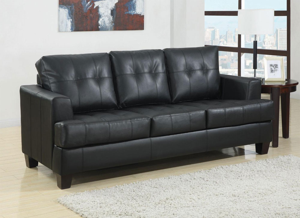 Brown leather sofa set west leather sofas for Leather sofa set